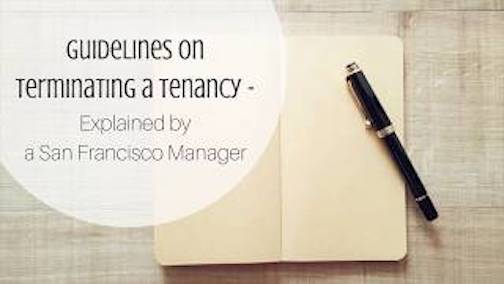 guidelines on terminating a tenancy